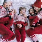 Christmas Family Pajamas Set Xmas Matching Couple Sleepwear Nightwear Costume US