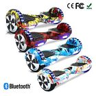 Hoverboard 6.5 Inch Self Balance Scooter Wheel Electric Bluetooth Chrome