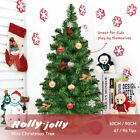 Costway 60/90cm Mini Christmas Tree Xmas Home Decoration Kids Green
