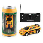 Mini Car Multicolor Coke Can Speed RC Radio Remote Control Racing Toy Gift Cool