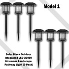 Solar LED Outdoor Pathway Lights Garden Patio Walkway Yard Landscape Waterproof