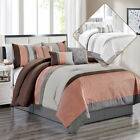 Clory Chic 7-Piece All Season Comforter Set With Decorative Pillows & Bed-skirts image