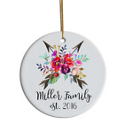 Sublimation Circle Christmas Decoration 3