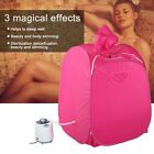 Portable Home Spa Steam Sauna Tent Full Body Slim Loss Weight Detox Therapy