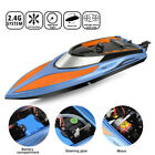 Toyabi 2.4G Racing RC Boats Capsize Reset Pool Toys H101/102/106 W/ 2 Batteries