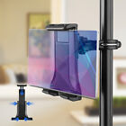 "Universal 4-12.5"" Mic Stand Bike Phone Tablet Holder Bicycle Handlebar Mount"