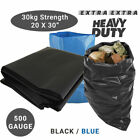 50 HEAVY DUTY RUBBLE SACKS BUILDERS BAGS
