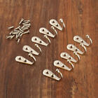 10pc Wall Door Alloy Antique Hook Hanger Rack For Key Clothes Coat Hat Bag Towel