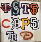 2 MLB Stickers Baseball Lot Of 2 Logo Sticker Pick Your Team NEW Free Shipping
