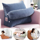 Adjustable Back Wedge Sofa Pillow Office Bedrest Support Waist Lumber Cushion image
