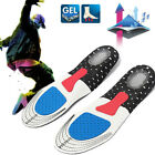 Soft Men's Gel Cushioning Running Arch Support Insert Sport Shoe Insole PadsNew