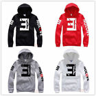 Mens Womens Eminem Hip Hop Sweater Fleece Hoodie Hoody Jacket Sweatshirt Rap