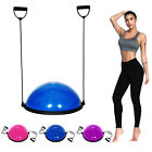 "23"" Yoga Half Ball Balance Trainer Strength Fitness Exercise Gym w/Pump USA image"