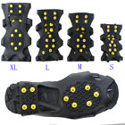 Внешний вид - Ice Non Slip Shoes Snow Ice Studs Grips Spikes Cleat Crampons over shoe covers