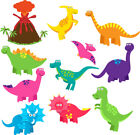 Fun Dino Dinosaur Stickers Child Kids Vinyl Decal Bath Wall Laptop Window Fridge