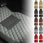 Universal Fitment Floor Mats For Car SUV Leather Diamond Design 5 Colors $29.97 USD on eBay