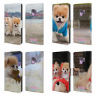 BOO-THE WORLD'S CUTEST DOG PLAYFUL LEATHER BOOK WALLET CASE FOR SAMSUNG PHONES 1