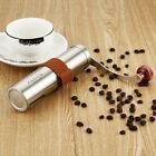 Adjustable Manual Coffee Grinder with Ceramic Burr Hand Crank Bean Mill Tool UK