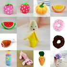 Pet Dog Cat Squeaker Squeaky Toy Quack Sound Funny Plush Teeth Clean Chew Toy