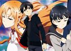 Sword Art Online II 2 SAO Kirito Asuna Poster Group High Grade Glossy Laminated