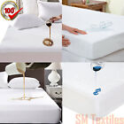 Anti Allergy Terry Cotton Towel Waterproof Mattress Protector Fitted Sheets 2019