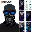 Skull Head Neck Warmer Face Shield SPF Sun Mask Ski Balaclava Fishing Motorcycle for sale  Shipping to Canada