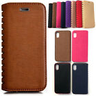 Magnetic Flip Synthetic Leather Premium Book Case For Various Apple iPhones