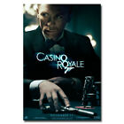 "James Bond 007 Casino Royale Spy Shooting Movie Art Silk Poster 13x20"" 24x36"" $10.39 USD on eBay"