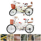 Kids Mother 22'' Tandem Bike 2 Seat Safety Multifunction Bicycle Family Trip UPS