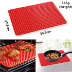 Silicone Baking Mat Non Stick Pyramid Cone Pan Cooking Liner Tray Oven Healthy