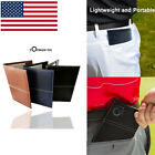 Score Card Holder Leather PU Golf Yardage Book Cover Score Sheets Free Gifts US