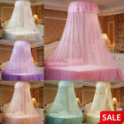 Elegant Round Lace Insect Bed Canopy Netting Curtain Dome Mosquito Net Home Room image