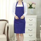 US Women Men Waterproof Kitchen Apron Chef Butcher BBQ Cooking Baking Catering