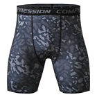 Hot Mens Compression Shorts Tights Gym Base Layer Under Wear Sport Outdoor Pants