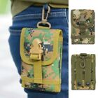 Metal Detector Camo Bag Waist Pack Hook Loop Belt Pouch Military Outdoor Sports