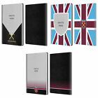 CUSTOMISED WEST HAM UNITED FC 2018/19 PHOTOS WHITE GREY LEATHER PASSPORT HOLDER