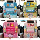Car Seat Back Cartoon Organizer Storage Bags Hanging Bags Pocket for Kid Best