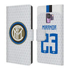 INTER MILAN 2018/19 PLAYERS AWAY KIT GROUP 2 LEATHER BOOK CASE FOR SAMSUNG 1