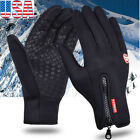 Kyпить Men Women Winter Warm Gloves Windproof Waterproof Thermal Touch Screen Mittens на еВаy.соm