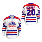 WHA scharf ted New York Raiders stitch Hockey Jersey Colors FREE SHIPPING