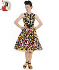 HELL BUNNY TUTTI FRUTTI 50s style FRUIT rockabilly SUMMER carmen DRESS