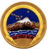 """3.875"""" NAVY USS AE-35 KISKA EMBROIDERED PATCH"""