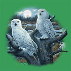 Snowy Owls T Shirt You Choose Style, Size, Color 10894 image