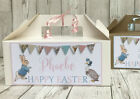 Personalised Easter Activity Gift Box Easter Egg Hunt Treats Peter Rabbit