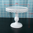 Dessert Cake Stand Holder Party Moroccan Style Didsplay White Round Brand New