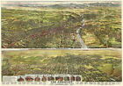 Los Angeles, California - 1894 - Aerial Bird's Eye View Map Poster