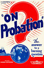 On Probation - 1935 - Movie Poster