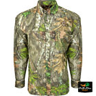 DRAKE WATERFOWL OL TOM MESH BACK FLYWEIGHT CAMO SHIRT WITH SPINE PADShirts & Tops - 177874