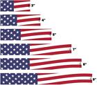 White Water Archery Waving American Flag Arrow Wraps 15pc Choose Length Width