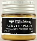 Finnabair Prima ART ALCHEMY METALLIQUE Acrylic Paint CHOOSE from 43 Rich Colors